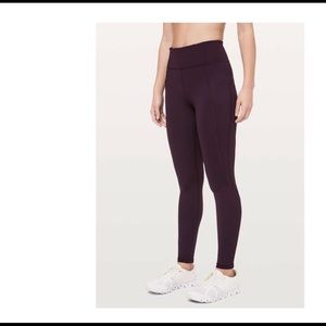 Lululemon In Movement Leggings - Size 6